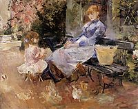The Fable, 1883, morisot