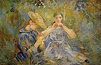 The Flageolet, 1890, morisot