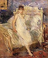 Getting Up, 1886, morisot