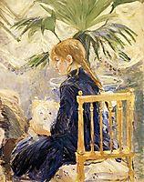 Girl with Dog, 1886, morisot