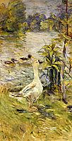 The Goose, 1885, morisot