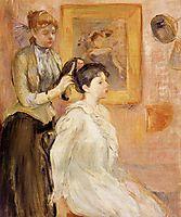The Hairdresser, 1894, morisot