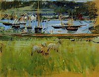 Harbor in the Port of Fecamp, 1874, morisot