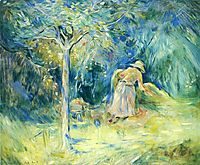 Haying at Mezy, 1891, morisot