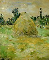 Haystack, 1883, morisot