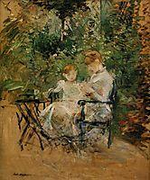 In the Garden, c.1885, morisot