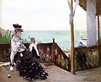 In a Villa at the Seaside, 1874, morisot
