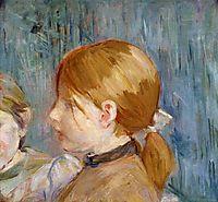 Jeannie-s Head (aka Tete de Jeannie), 1888, morisot