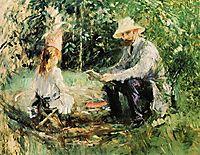 Julie and Eugene Manet, 1883, morisot