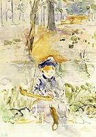 Julie and Her Boat, 1884, morisot