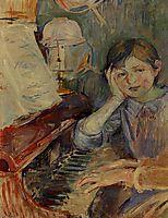 Julie Listening, 1888, morisot