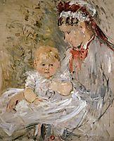 Julie Manet and her Nurse, morisot