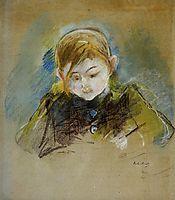 Julie Writing, 1884, morisot