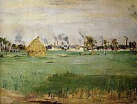 Landscape at Gennevilliers, 1875, morisot