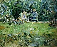 The Lesson in the Garden, 1886, morisot