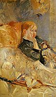 Little Girl with a Doll, 1886, morisot