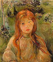 Little Girl at Mesnil, 1892, morisot