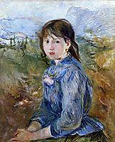 The Little Girl from Nice, Celestine, 1889, morisot