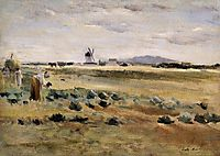 The Little Windmill at Gennevilliers, 1875, morisot