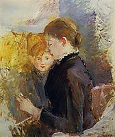 Miss Reynolds, 1884, morisot