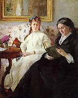 The Mother and Sister of the Artist, 1869-1870, morisot