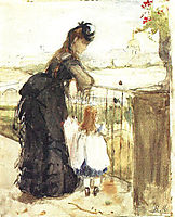 On the Balcony, 1873, morisot