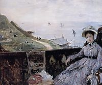 On the Terrace, 1874, morisot