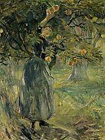 The Orange Picker, 1889, morisot