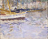 The Port of Nice, 1882, morisot