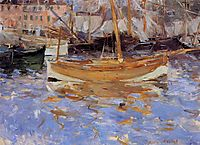 The Port of Nice, 1882, morisot