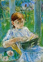 Portrait of the Artist-s Daughter, Julie Manet, at Gorey, 1886, morisot