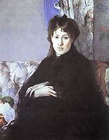 Portrait of Edma Pontillon, 1871, morisot