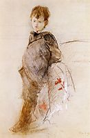 Portrait of Marcel, c.1880, morisot