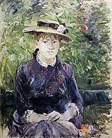 Portrait of Paule Gobillard, 1884, morisot