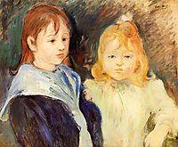 Portrait of Two Children, 1893, morisot