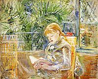 Reading, 1888, morisot