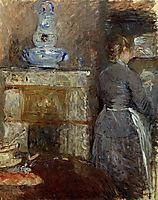 The Rouart-s Dining Room, 1880, morisot