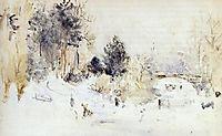 Snowy Landscape (aka Frost), 1880, morisot