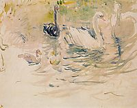 Swans, 1888, morisot