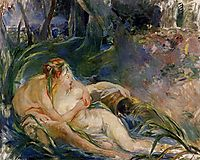Two Nymphs Embracing, 1892, morisot
