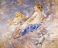 Venus at the Forge of Vulcan (after Boucher), 1884, morisot