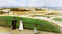 View on Paris Sun, 1872, morisot