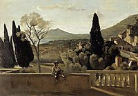 View of Tivoli (after Corot), 1863, morisot