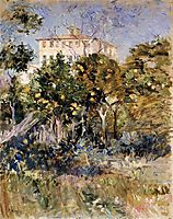 Villa with Orange Trees, Nice, 1882, morisot