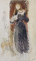 The Violin, 1893, morisot