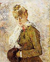 Winter (aka Woman with a Muff), 1880, morisot