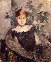 Woman in Black, 1878, morisot