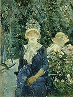 Woman in a Garden, morisot