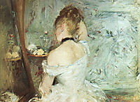 A Woman at her Toilette, 1875, morisot