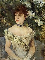 Young girl in a ball gown, 1879, morisot